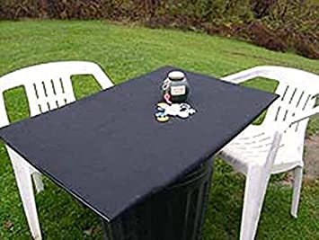 Felt Table Cover Bonnet For Square Or Card Tables   Dwst Bloc (black, 36