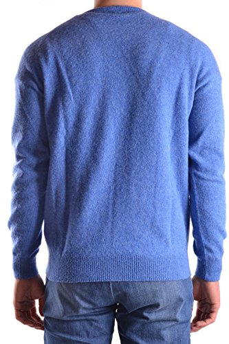 Altea Herren MCBI016084O Hellblau Wolle Sweater