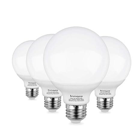 Amazon.com: Innqoo G25 Bombilla LED, luz de vanidad ...