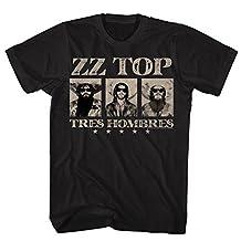 Zz Top - Mens Zz Top T-Shirt, Large, Black