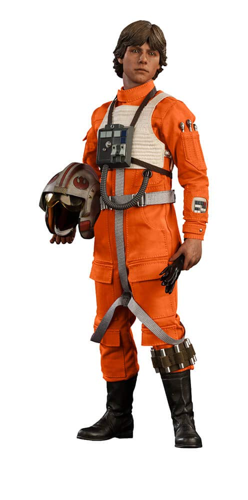 Sideshow Star Wars Episode IV A New Hope: Luke Skywalker Red-Five X-Wing Sixth Scale 12'' Action Figure Exclusive Version