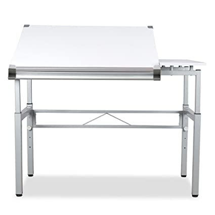 Yaheetech Height Adjustable Multifunctional Drafting Table Arts And Craft  Table Drawing Table Painting Table Desk Writing
