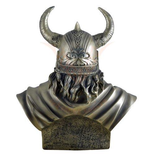 Büste Wikinger Odin höchster nordischer Gott Gott Gott bronze 3655b3