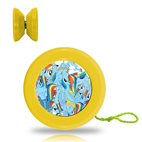 MY Little Pony Professional Responsive Yoyo With Narrow C Bearing And Extra String Yellow (Mlp Halloween 2017)