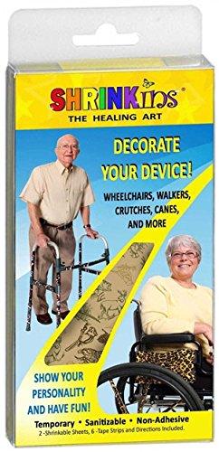 SHRINKins SHR100WILD The Healing Art Adult Medical Device Wilderness Design Decorating & Personalization Kits