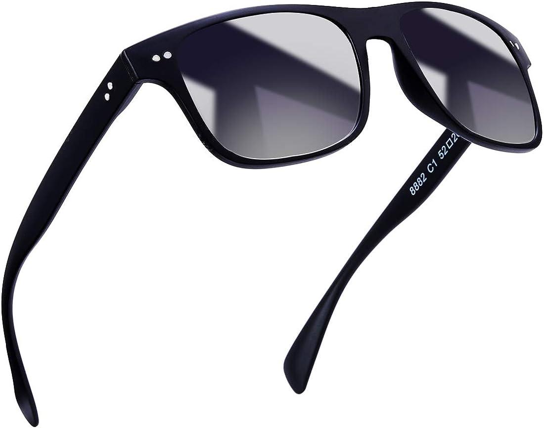 Matt Black Polarised Mirrored Trendy Wayfare Sunglasses Cheap UV400