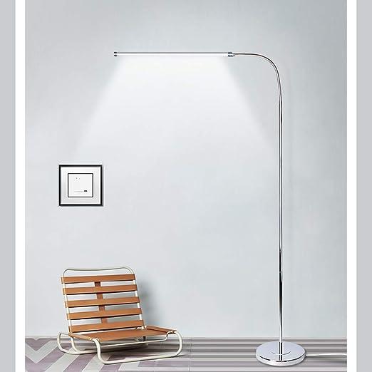 GQQ LED Cuidado para Los Ojos Lámpara De Pie,Hierro Poste De Luz ...