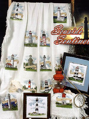 Seaside Sentinels - Cross Stitch Pattern