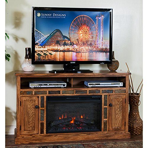 Sunny Designs Sedona Fireplace TV Console, ()