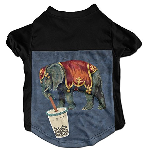 [India Elephant Printing Pet Clothes Warm Coat Puppy Short Sleeved T-Shirt] (Cobra Firefly Costumes)