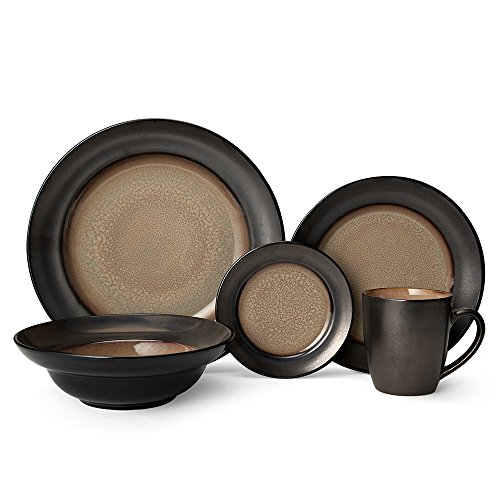 Gourmet Basics Sandstone Dinnerware Set (20 Piece)