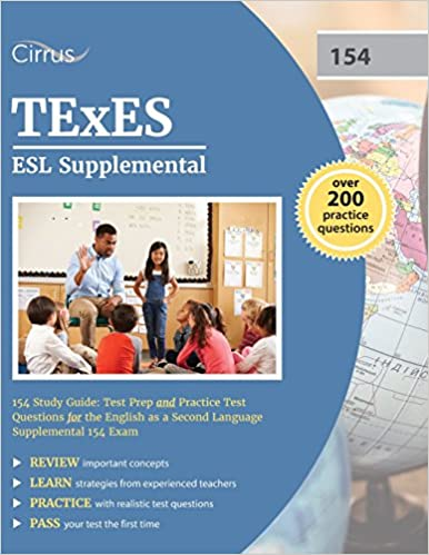texes esl supplemental 154 study guide: test prep and practice test ...