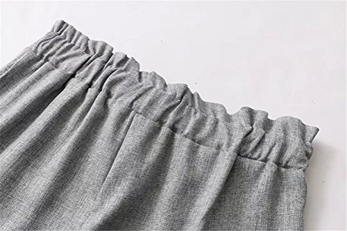 Per In Pantaloncini Elastico Oudan Shorts L'estate Elegante Large Gary Casual Da Vita Donna qBwdXvdH