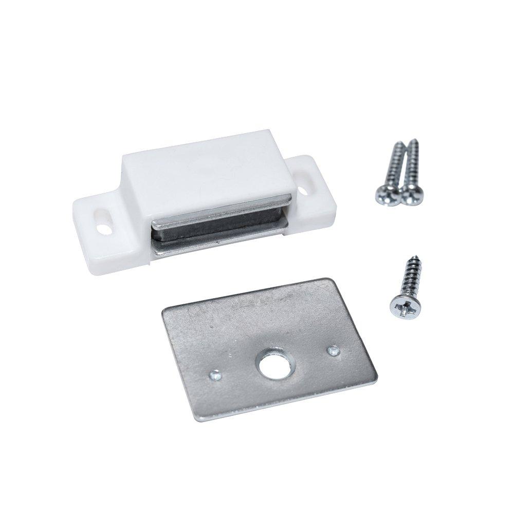 totalElement Magnetic Cabinet Door Latch Catch Closures 12 Pack