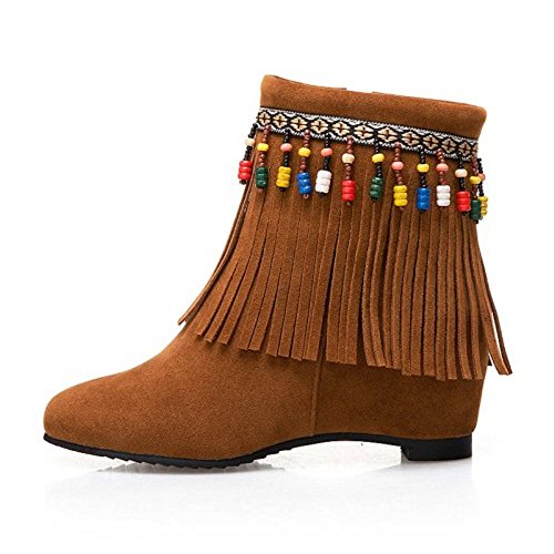 Bohemia Yellow Zip Women KemeKiss Ankle Boots nHRFYx