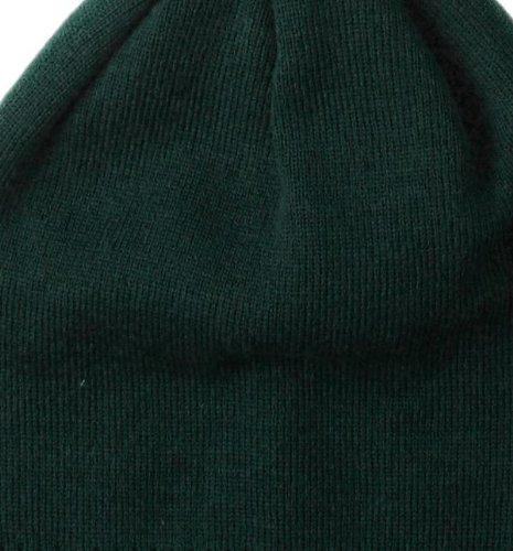 Beechfield Unisex Invierno Gorro pompón snow Star en contraste Colores B450 burgundy/offwhite