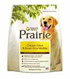 Prairie Chicken Meal and Brown Rice Medley Dry Dog Food by Nature's Variety, 5-Pound Bag, My Pet Supplies