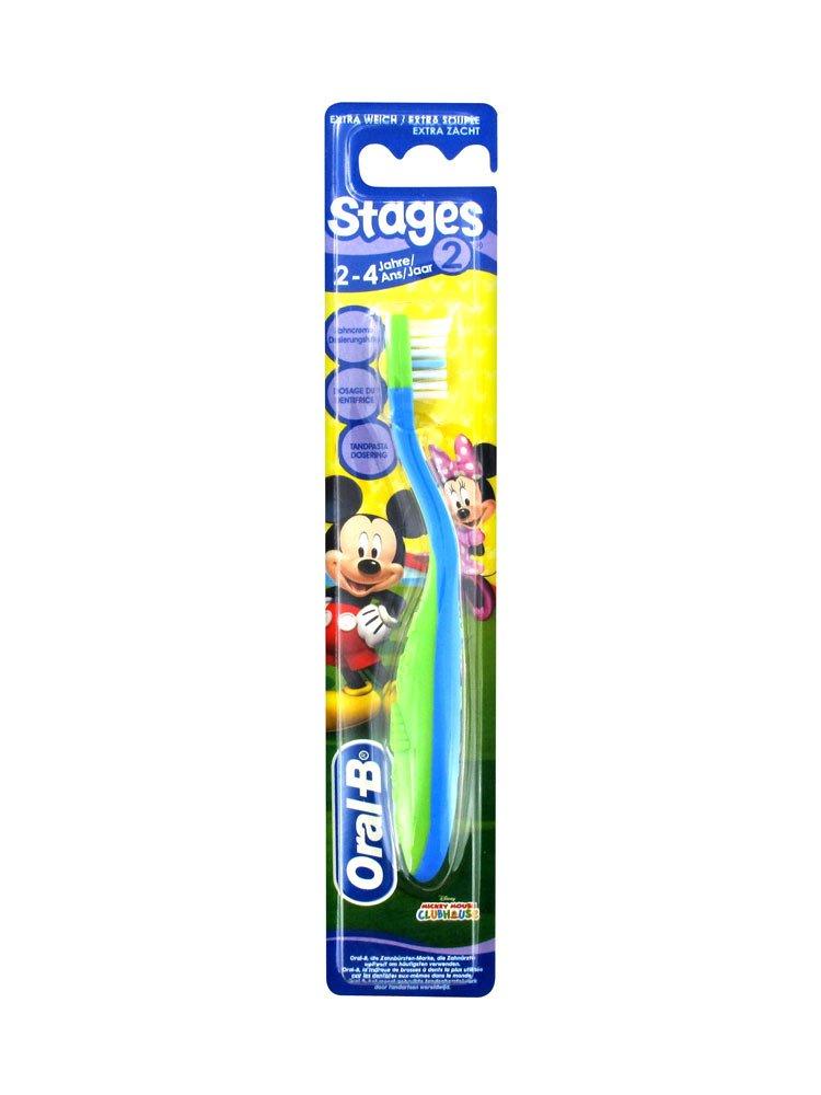Cepillo de dientes 96170 de Oral-B, etapa 2, de Winnie the Pooh, de 2 a 4 años, el color puede variar: Amazon.es: Salud y cuidado personal