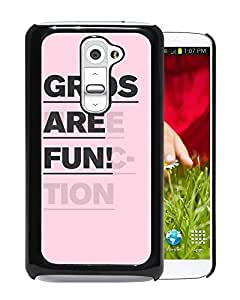 Grids Are Fun Durable High Quality LG G2 Phone Case