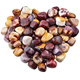 rockcloud 1 lb Tumbled Polished Stones Gemstone Supplies for Wicca,Reiki,Healing Crystal,Mookaite