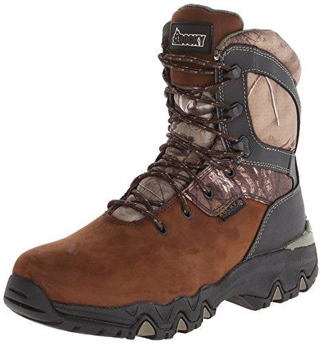 Rocky Men's 8 Inch Bigfoot 103 Snow Boot - Brown - 11 2E US