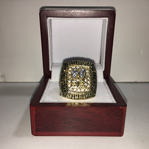 49ers Super Bowl - 1984 Joe Montana San Francisco 49ers High Quality Replica 1984 Super Bowl XIX Ring Size 10-Gold US SHIPPING VS Miami Dolphins