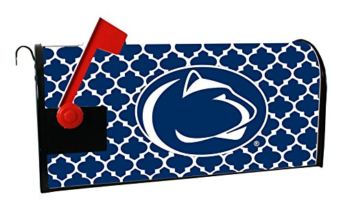 PENN STATE NITTANY LIONS MAILBOX COVER-PENN STATE UNIVERSITY MAGNETIC MAIL BOX COVER-MOROCCAN DESIGN