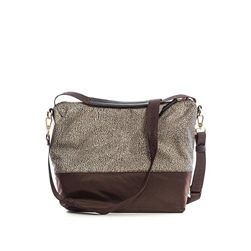 Tasche Damen Schokolade - 934301-246-N52 Borbonese b3PcC
