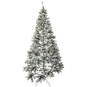 Perfect Holiday Christmas Tree, 8-Feet, Flocked Snow 66