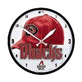 MLB Arizona Diamondbacks Round Clock