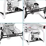 Neewer-Carbon-Fiber-Black-Gimbal-Guard-for-DJI-Phantom-3-Standard-Professional-and-Advanced-Protects-Camera-Gimbal