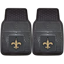 FANMATS NFL New Orleans Saints Vinyl Heavy Duty Car Mat