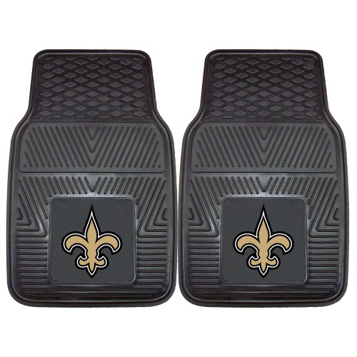 New Orleans Saints Car Mats - 1