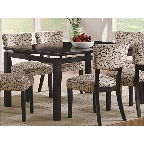 Coaster Home Furnishings Transitional Dining Table, Cappuccino