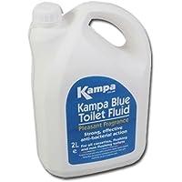 Kampa Blue Toilet Fluid, Additif pour Toilettes Chimiques, 2 litres
