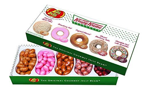 Jelly Belly Krispy Kreme Doughnuts Jelly Beans Gift Box, 5 Flavors, 4.25-oz