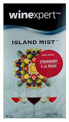 Island Mist Strawberry White Merlot Wine Kit by Winexpert