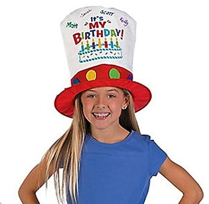 Amazon Birthday Hat Its My Autograph Dr
