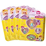 Cabbage Patch Kids Little Sprouts Friends 16 Pack - Includes 4 packs of Four Little Sprouts Each - Assorted Styles