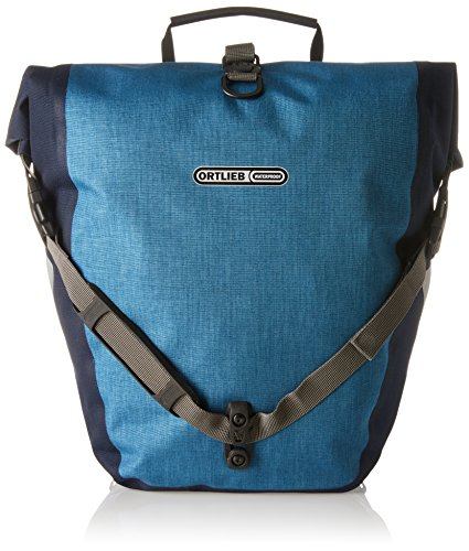 Ortlieb Back Roller - Ortlieb Back-Roller Plus QL2.1 Panniers (Pair) DENIM-STEEL BLUE #F5203