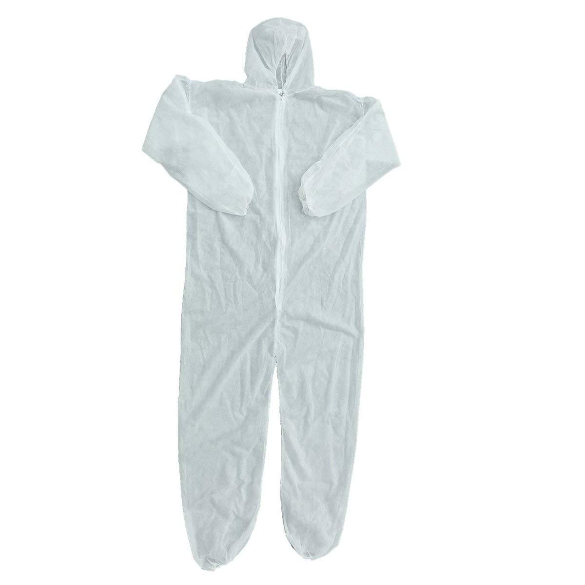 Abbigliamento di Protezione di Sicurezza Tuta monouso Abbigliamento Anti-Polvere Abbigliamento di Isolamento Abbigliamento da Lavoro Tessuto Non Tessuto di Un Pezzo