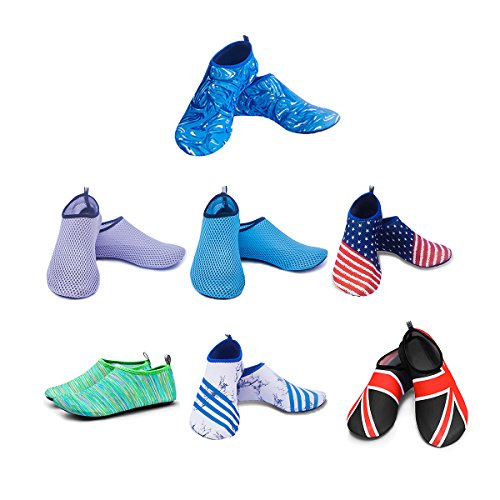 Quick Shoes Beach for Swim Water blue Socks Dry Mens and CZ Yoga Barefoot Sports White Womens q4pwR0