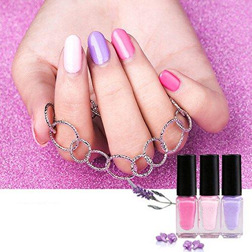 Spritech(TM) caramelo colores 3 Colletion Set esmalte de uñas laca