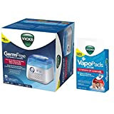 vick cool mist vaporizer - Vicks Incorporated V3900 Germ Free Cool Mist Humidifier (with VapoPad Family Pack 12 Pack)