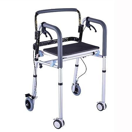 LXDDJZXQ Andador para Ancianos Walker, Andador Plegable de ...