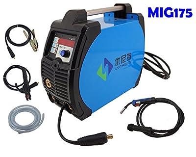 MIG Welder Inverter Welding Machine 175amp 220V 3 IN 1 with MIG MMA LIFT TIG Multi Function Tig Digital Control