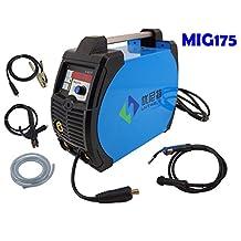 MIG Welder 175A 220V MIG Welding Machine 3 IN 1 with MIG/MMA/LIFT TIG Digital Control MIG Iinverter Welder Machine