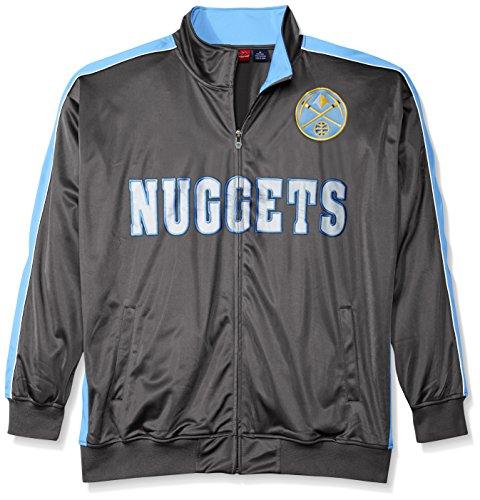 Nwt Adidas Nba Denver Nuggets Vintage Retro Jacket Coat: Denver Nuggets Jacket, Nuggets Coat