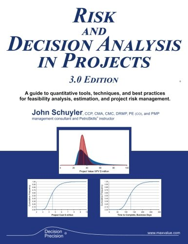 AmazonCom Risk And Decision Analysis In Projects  Edition