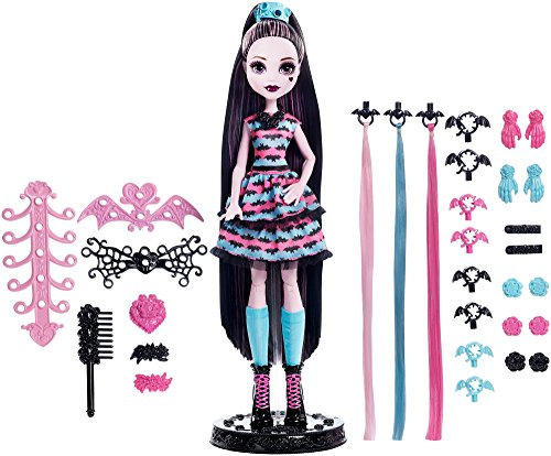 Monster High Girls Party Hair Draculaura -